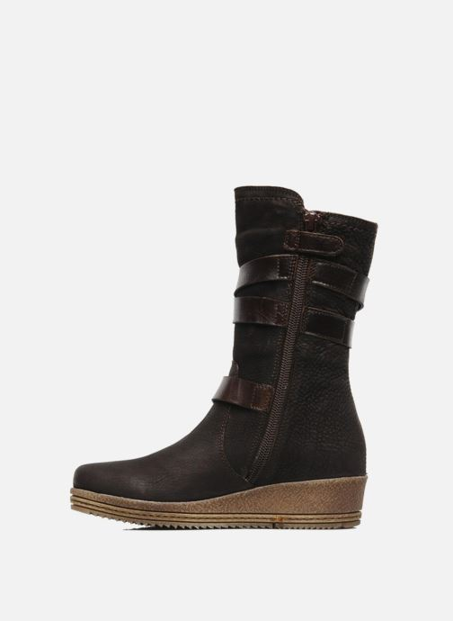 Boots & wellies Unisa FORNI Brown front view