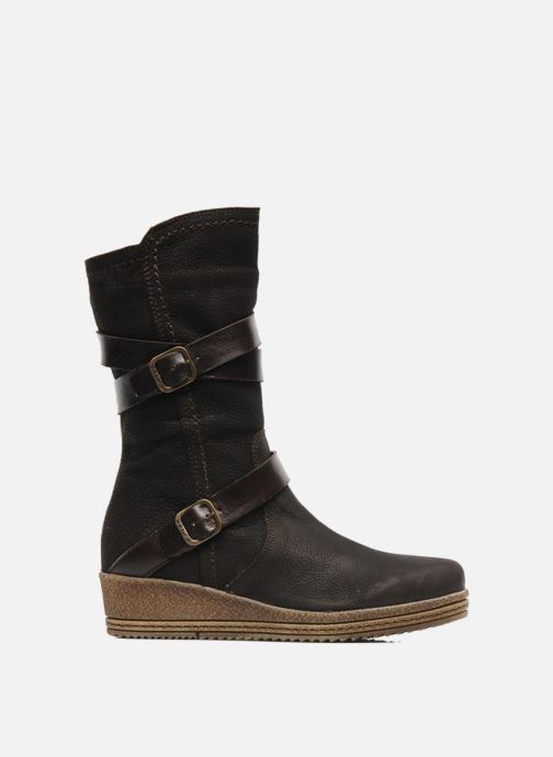 Boots & wellies Unisa FORNI Brown back view