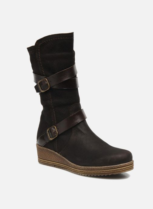 Boots & wellies Unisa FORNI Brown detailed view/ Pair view