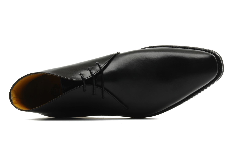 Chaussures à lacets Finsbury Chukka Noir vue gauche