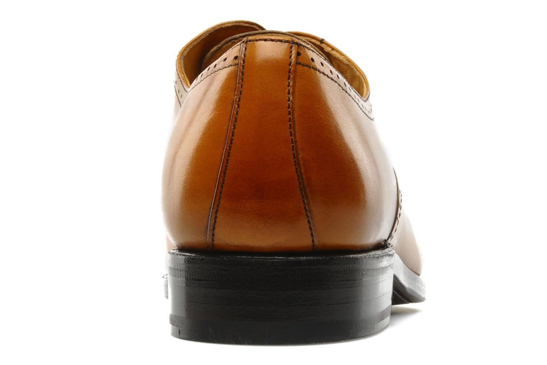 Chaussures à lacets Finsbury Diplomate Marron vue droite
