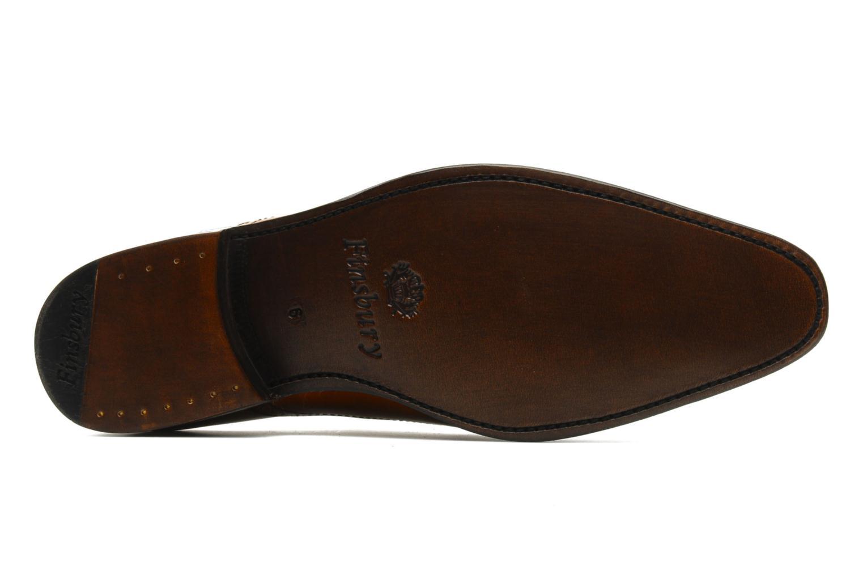 Chaussures à lacets Finsbury Diplomate Marron vue haut