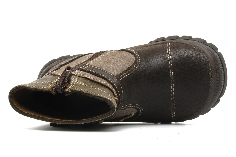 Bottines et boots Bopy Bocari Marron vue gauche