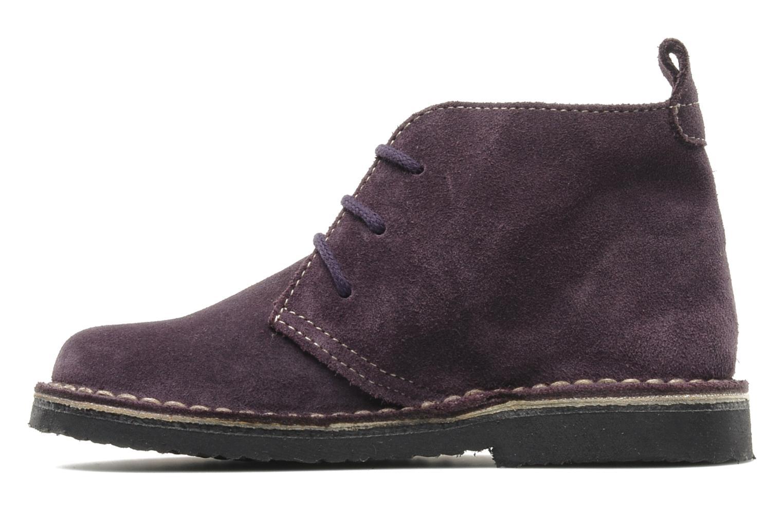 Zapatos con cordones Bopy Molaca Violeta      vista de frente