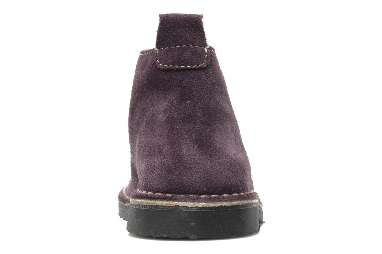 Zapatos con cordones Bopy Molaca Violeta      vista lateral derecha