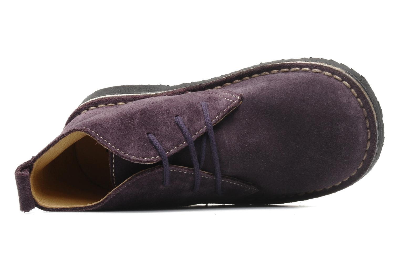 Zapatos con cordones Bopy Molaca Violeta      vista lateral izquierda