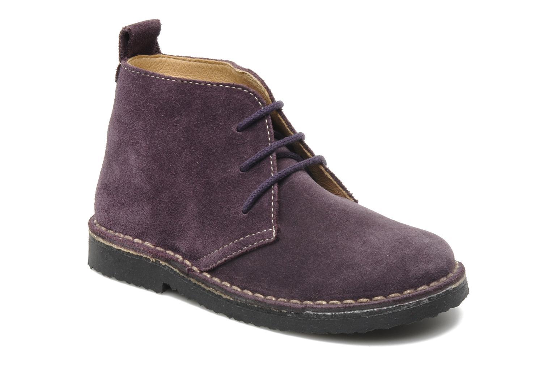 Zapatos con cordones Bopy Molaca Violeta      vista de detalle / par