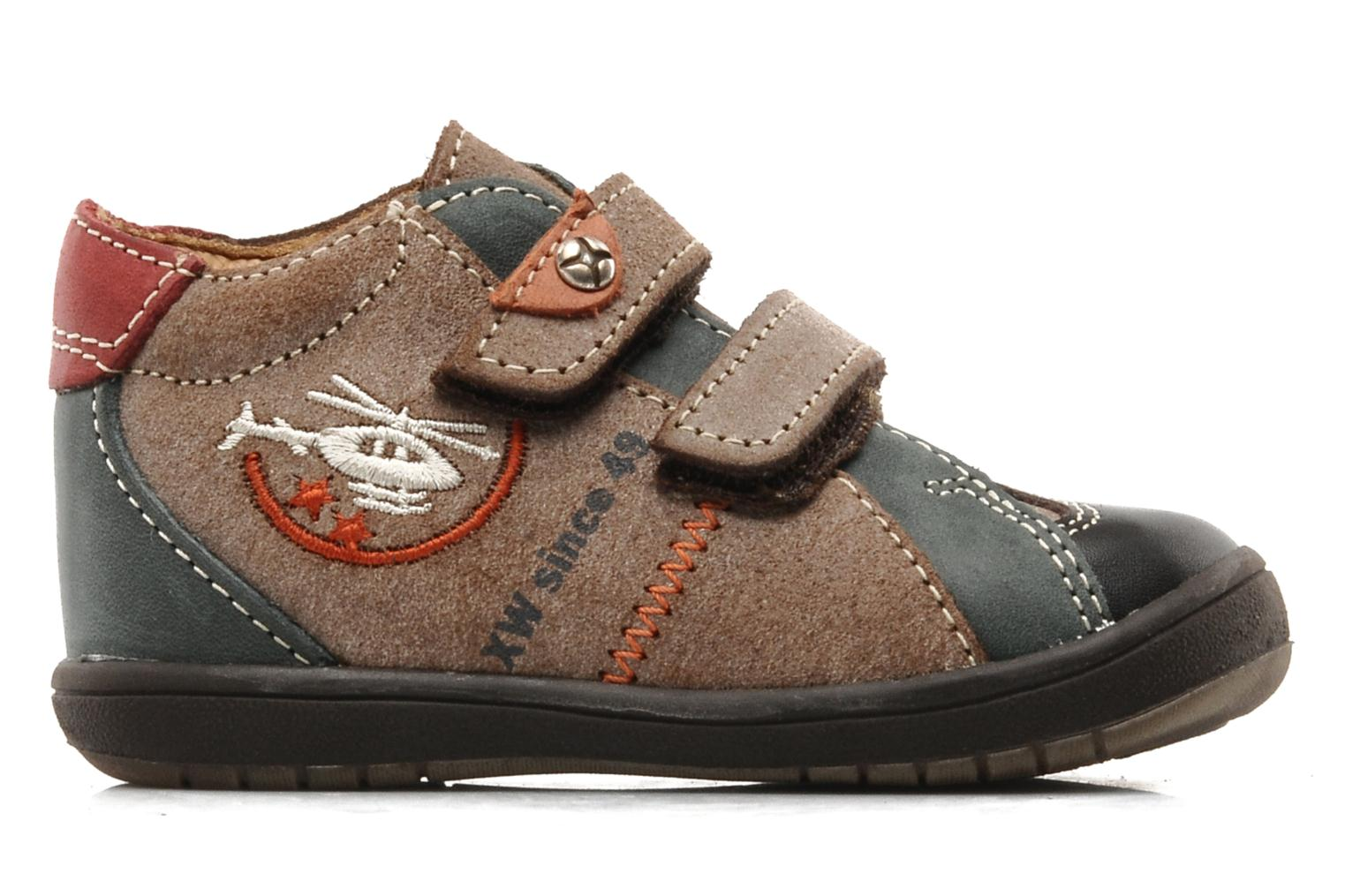 Velcro shoes Bopy Zirvel Brown back view