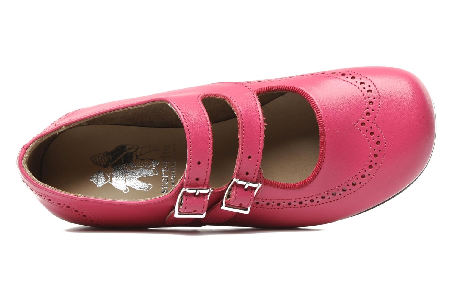 Ballerines start rite classics JANE Rose vue gauche