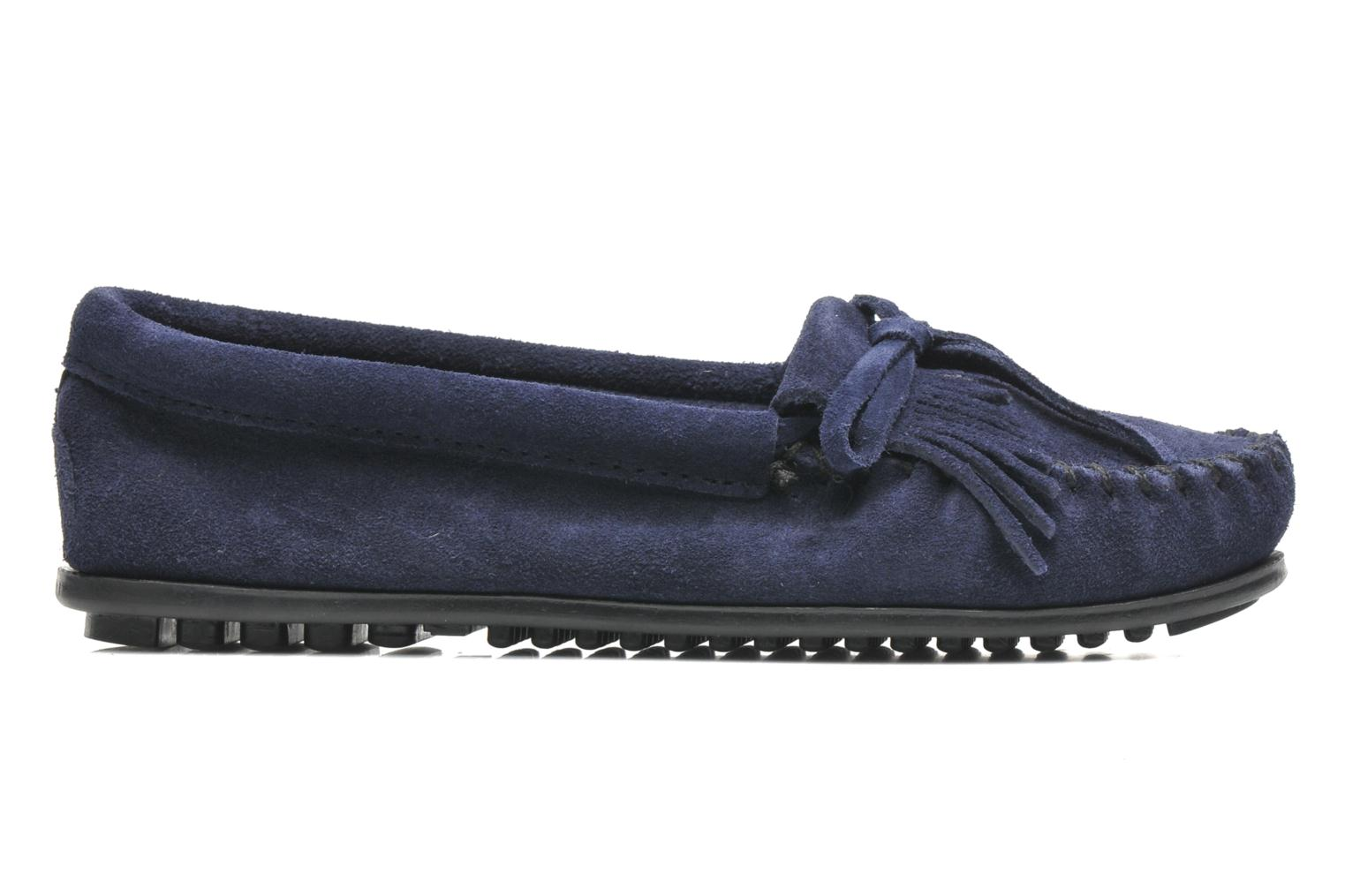 Loafers Minnetonka KILTY SUEDE MOC Blue back view