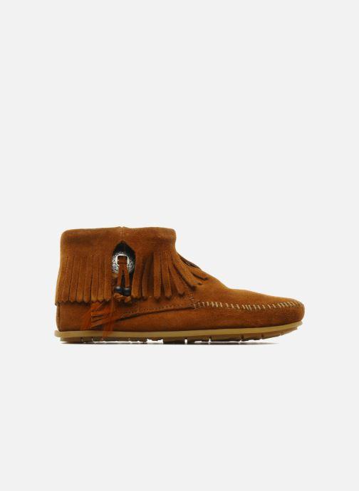 Boots en enkellaarsjes Minnetonka CONCHOFEATHER BT Bruin achterkant