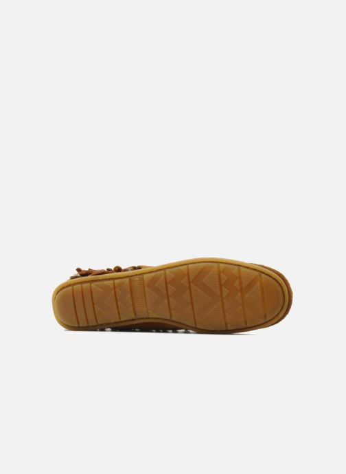 Boots en enkellaarsjes Minnetonka CONCHOFEATHER BT Bruin boven