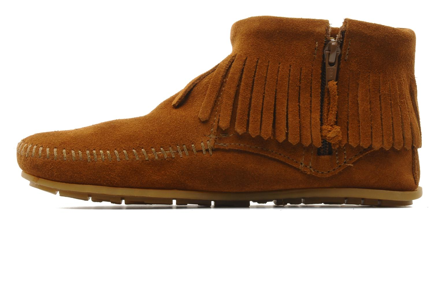 Bottines et boots Minnetonka CONCHOFEATHER BT Marron vue face
