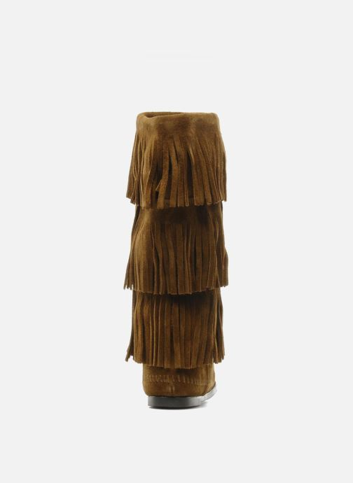Minnetonka 3 LAYER FRINGE Stiefel Stiefel Stiefel (braun) - Stiefeletten & Stiefel bei Más cómodo ad9e17