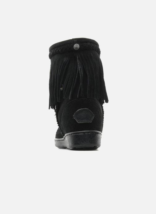 Stiefeletten & Boots Minnetonka FRINGE CLASSIC PUG BT schwarz ansicht von rechts