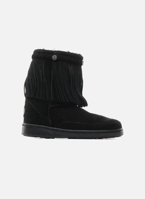 Stiefeletten & Boots Minnetonka FRINGE CLASSIC PUG BT schwarz ansicht von hinten