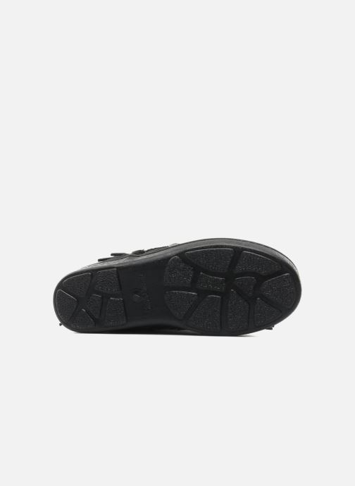Stiefeletten & Boots Minnetonka FRINGE CLASSIC PUG BT schwarz ansicht von oben