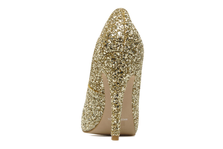 Zapatos de tacón Carvela ANTIBES Oro y bronce vista lateral derecha