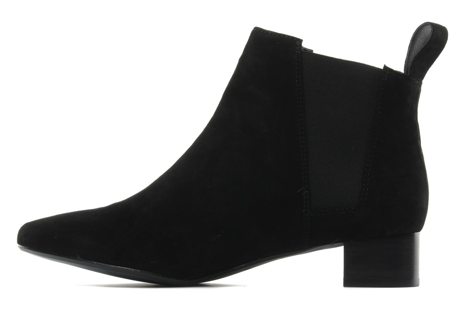 Ankle boots Clarks Lulworth Cove Black front view