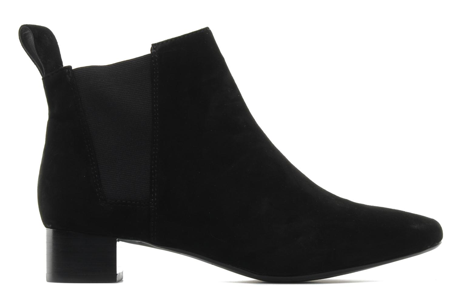 Ankle boots Clarks Lulworth Cove Black back view