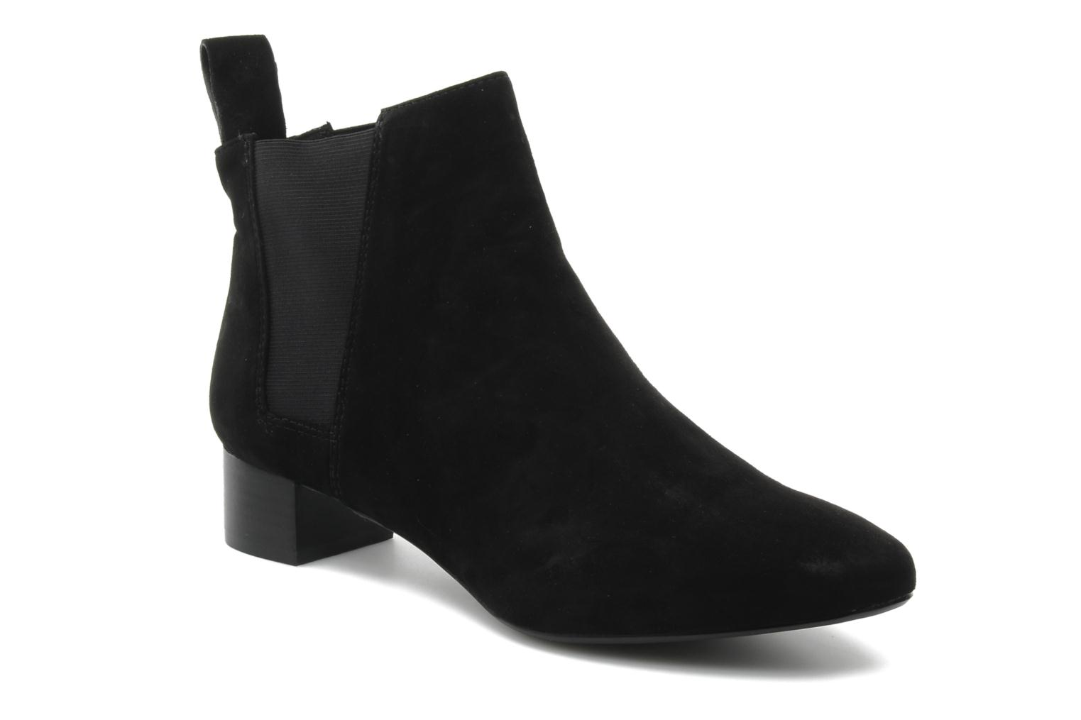 Ankle boots Clarks Lulworth Cove Black detailed view/ Pair view