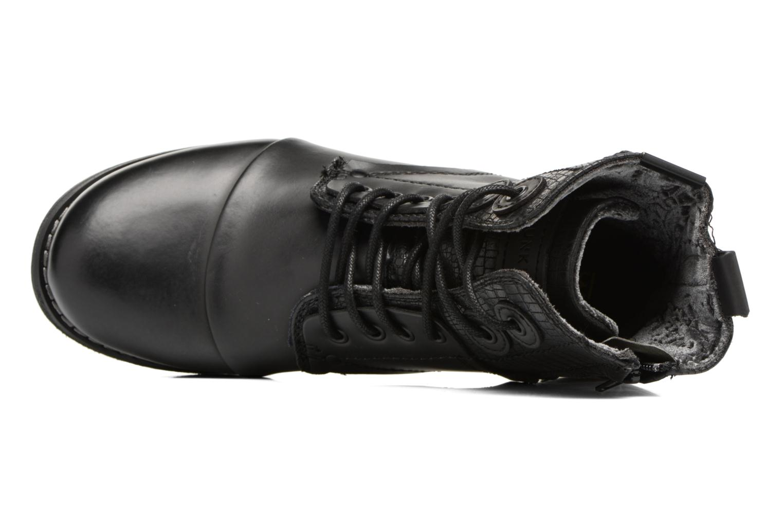Bottines et boots Bunker Sara sar Noir vue gauche