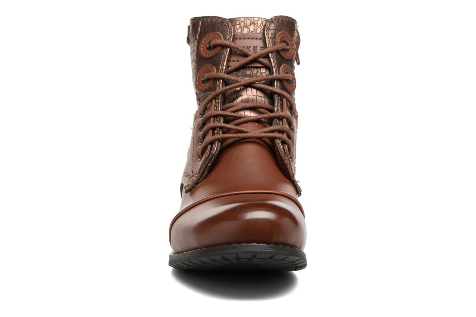 Ankle boots Bunker Sara sar Brown model view