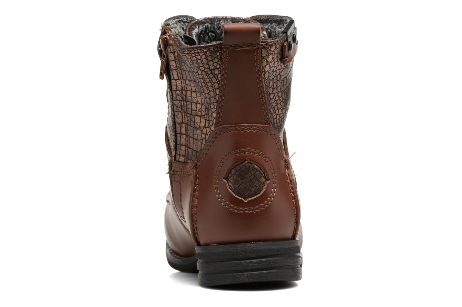 Ankle boots Bunker Sara sar Brown view from the right