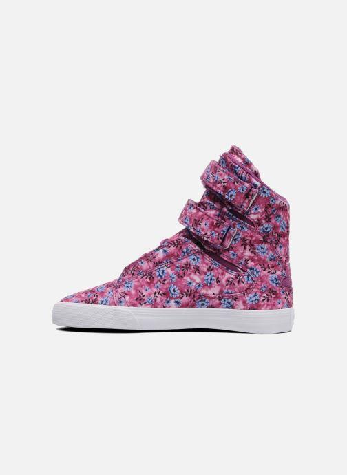Sneakers Supra Society w Rosa immagine frontale