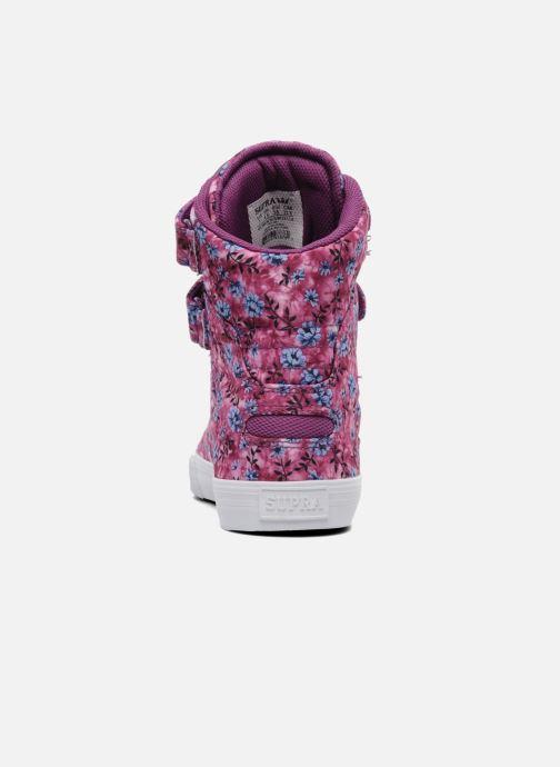 Sneakers Supra Society w Rosa immagine destra