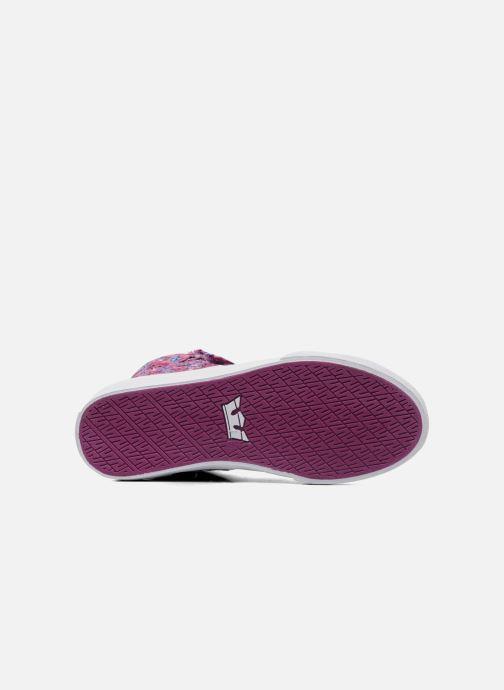 Sneakers Supra Society w Rosa immagine dall'alto