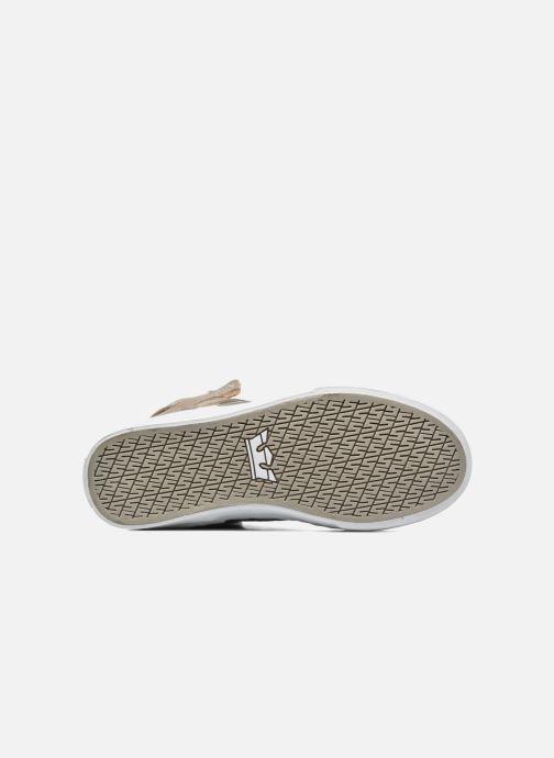 Sneaker Supra Skytop w braun ansicht von oben