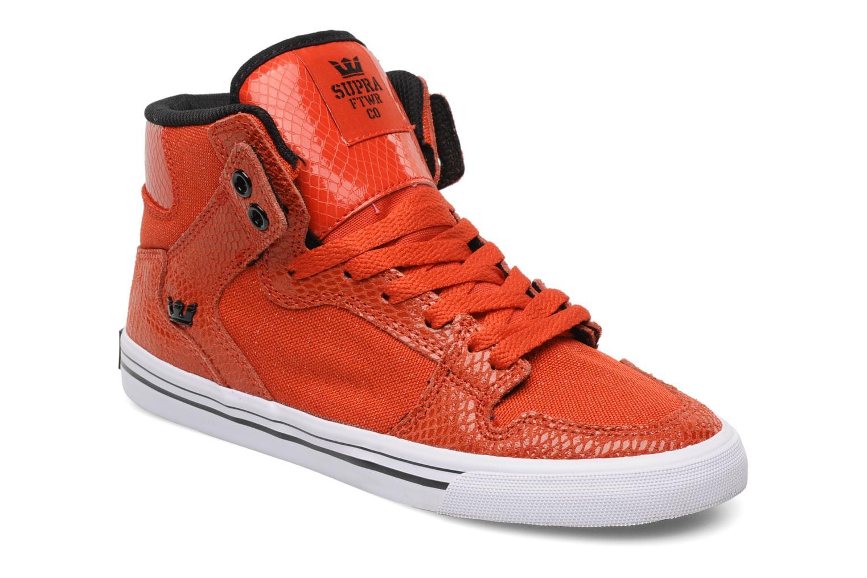 Sneakers Supra Vaider w Rood detail