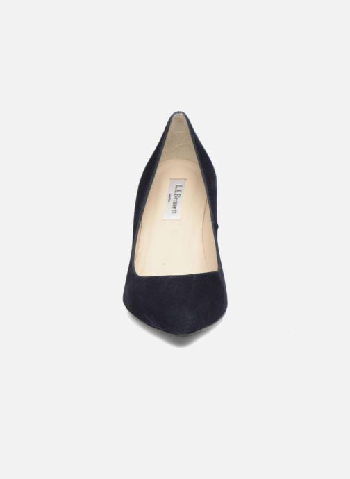 Escarpins L.K. Bennett Floret Bleu vue portées chaussures