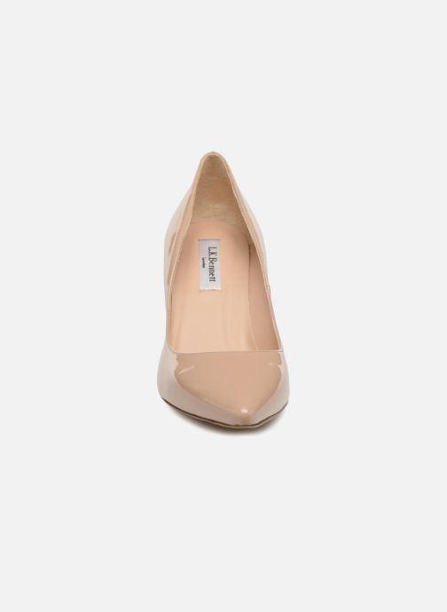 High heels L.K. Bennett Floret Beige model view