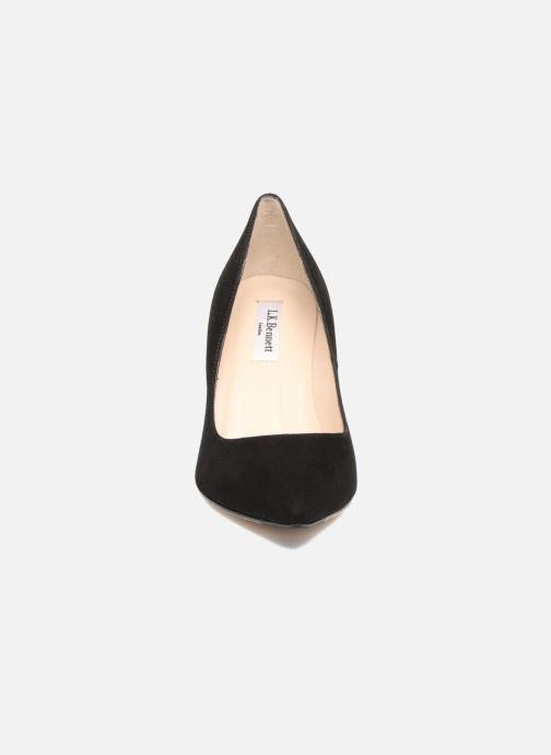 Høje hæle L.K. Bennett Floret Sort se skoene på