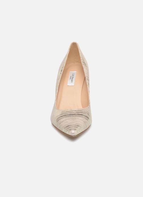 Høje hæle L.K. Bennett Floret Beige se skoene på