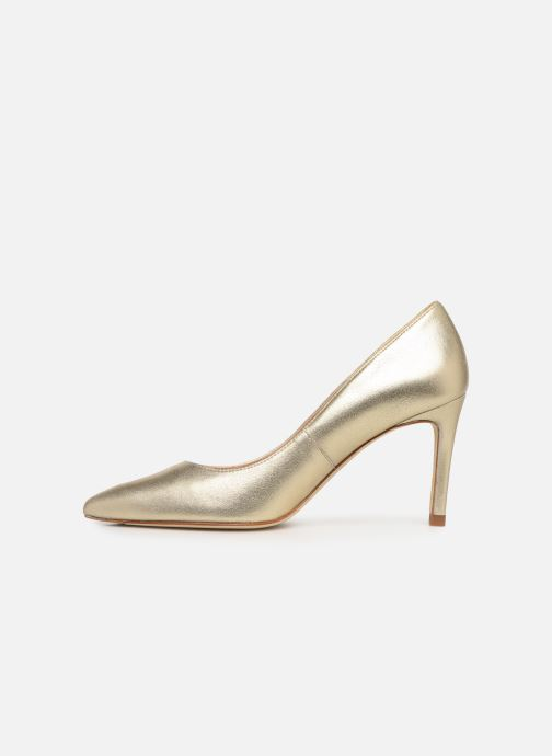 High heels L.K. Bennett Floret Bronze and Gold front view