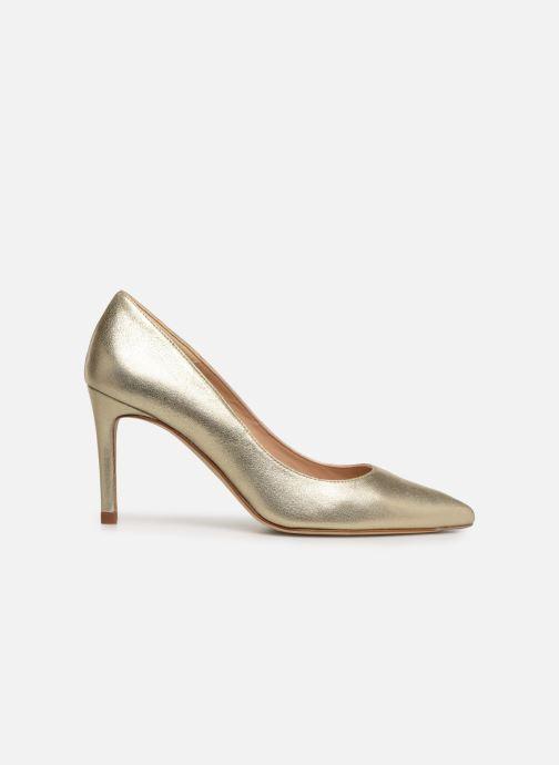 High heels L.K. Bennett Floret Bronze and Gold back view