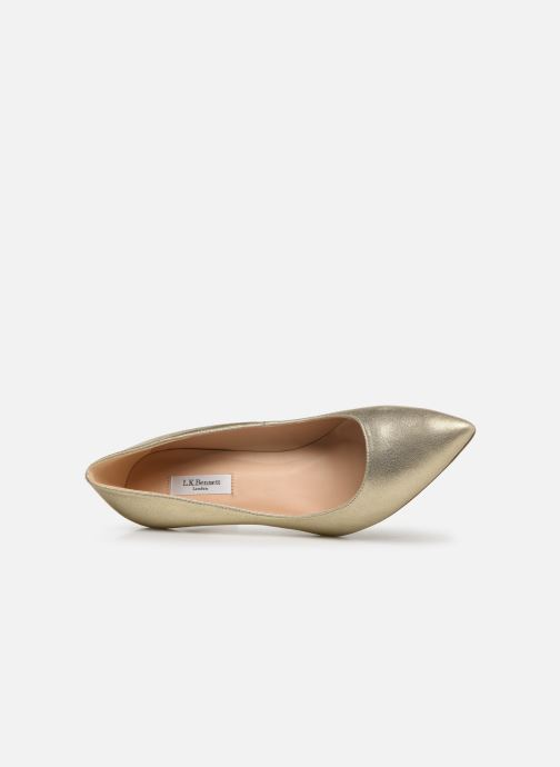 Pumps L.K. Bennett Floret Goud en brons links