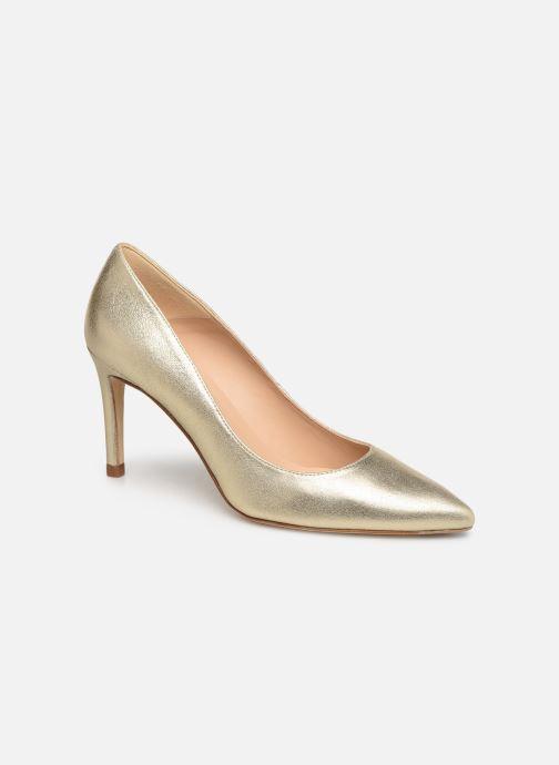 High heels L.K. Bennett Floret Bronze and Gold detailed view/ Pair view