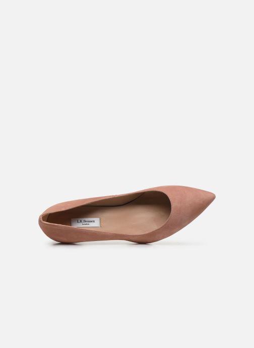 Zapatos de tacón L.K. Bennett Floret Rosa vista lateral izquierda