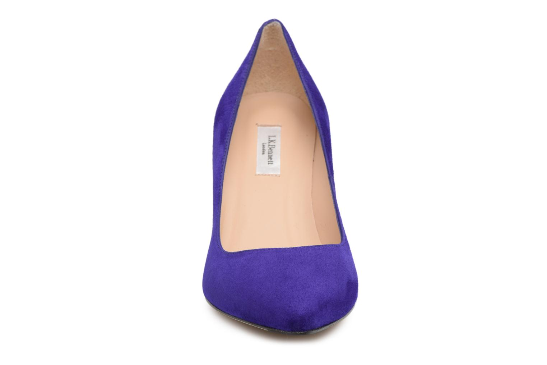 High heels L.K. Bennett Floret Blue model view