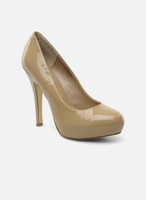 High heels Steve Madden Traisie Beige detailed view/ Pair view