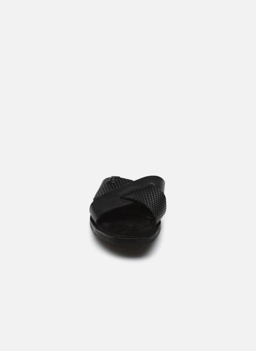 Sandales et nu-pieds Base London LEO Noir vue portées chaussures