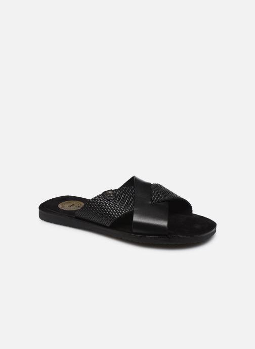 Sandales et nu-pieds Base London LEO Noir vue détail/paire
