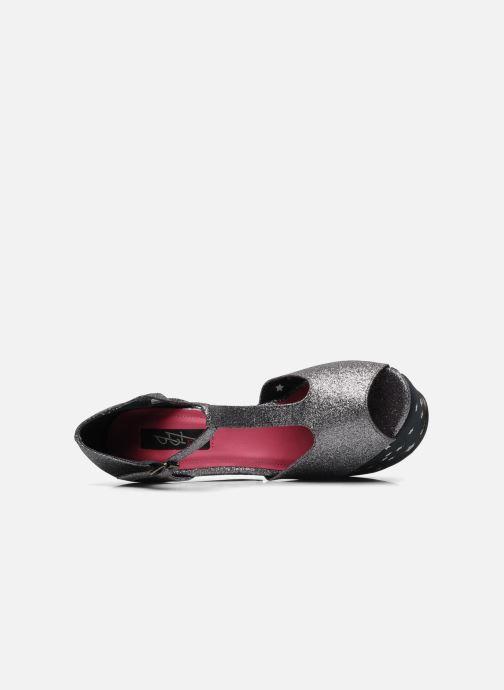 Sandales et nu-pieds Iron Fist STARRY NIGHT SUPER PLTFRM Argent vue gauche