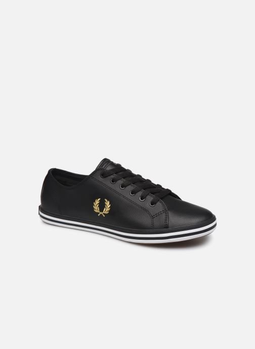 Baskets Fred Perry Kingston Leather Noir vue détail/paire