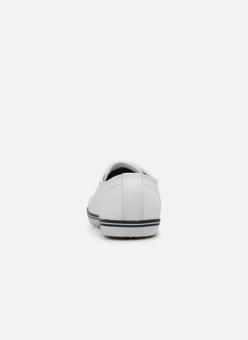 Baskets Fred Perry Kingston Leather Blanc vue droite