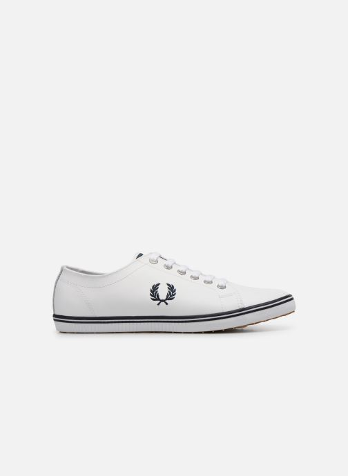 Baskets Fred Perry Kingston Leather Blanc vue derrière